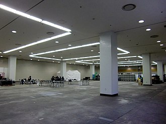 Recessed light - Different types of recessed lighting in a warehouse