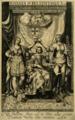 Ioannes IV Rex Lusitaniae XVIII - Antonio de Sousa de Macedo, 'Lusitania Liberata', 1645 (British Museum, 1862,0208.149).png