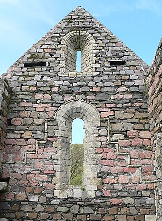 Iona Nunnery - Iona Nunnery - church detail.
