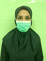 Iranian surgical technologist with hijab 03.jpg
