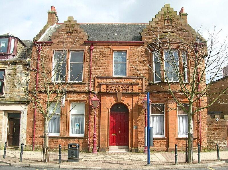 Irvine Burns Club, Irvine.JPG