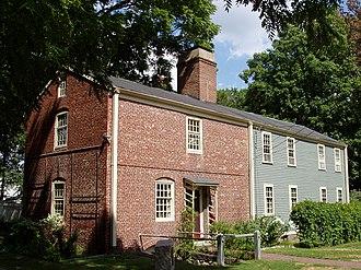 Isaac Royall House - Slave quarters.