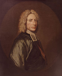 a portrait of Isaac Watts