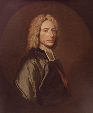 Isaac Watts, by unknown artist. See source web...