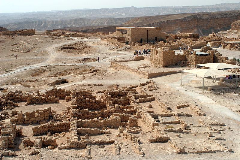 Masada - die herodianische Beamtenvilla - vergrößerbar