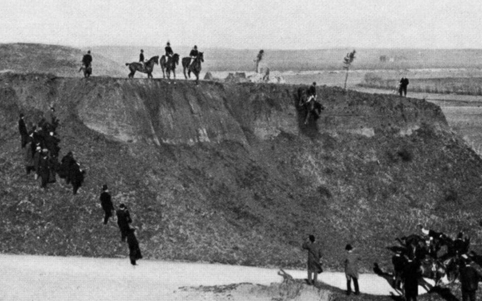 Italian cavalry drill