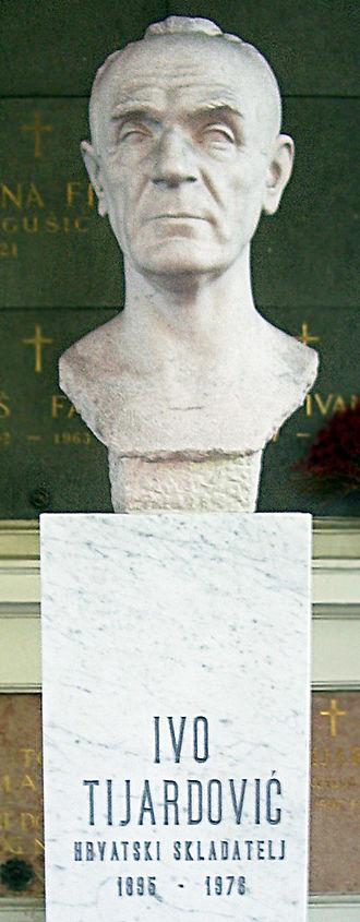 Ivo Tijardović - Bust of Ivo Tijardović