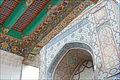 Iwan dentrée (Shah-i-Zinda, Samarcande) (6009384477).jpg