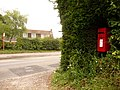 Iwerne Minster, postbox No. DT11 143 - geograph.org.uk - 1405776.jpg