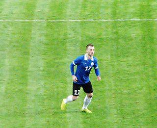 Enar Jääger Estonian footballer
