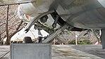 JASDF F-104J(46-8603) left main landing gear rear view at Kasuga Air Base November 25, 2017.jpg