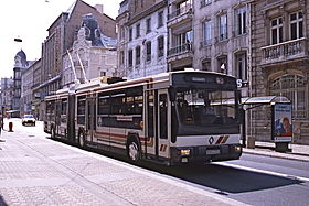 Image illustrative de l'article Trolleybus de Nancy