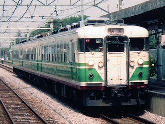 169 series - Image: JRE EC169 Nagano Color