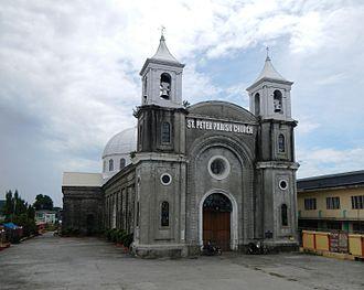 San Pedro Apostol Church (Apalit) - Facade of the San Pedro Apostol Church in Pampanga