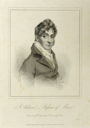 John Addison (1765–1844) - John Addison, engraved by Robert Cooper from a drawing by Joseph Slater, 1819