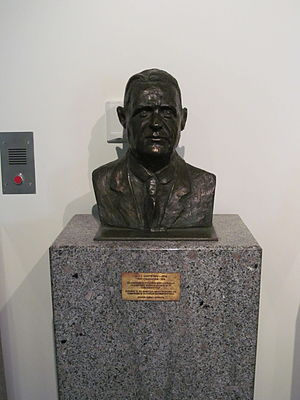 James Battye - A bust of Battye located in the State Library of Western Australia