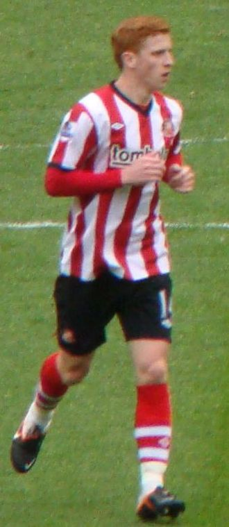 Jack Colback - Colback in the match against Manchester United on the final day of the 2011–12 Premier League season.