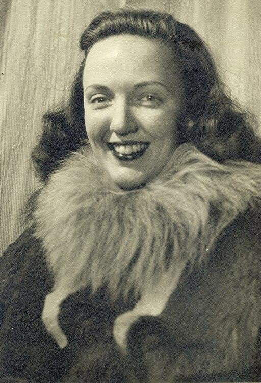 Jackie Ronne, Stonington Island, Antarctica (January 1 1947)