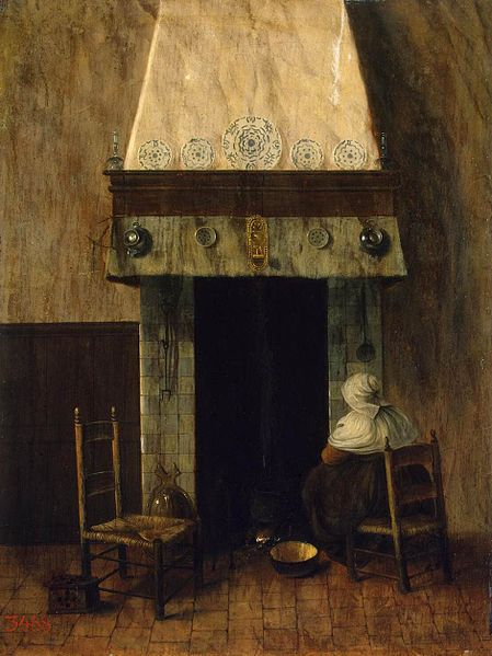 File:Jacob Vrel - An Old Woman by a Fireplace - WGA25389.jpg