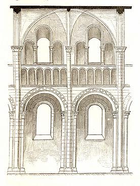 Jahrbuch MZK Band 03 - Gewölbesystem - Fig 36 Joch aus dem Langhaus von St. Trinité zu Caen.jpg