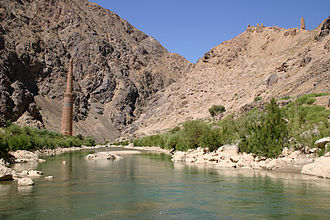 Battle of Kafer Qal'eh - Harirud, the river near the battlefield