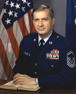 James C. Binnicker - 9th Chief Master Sergeant of the Air Force (1986-1990)