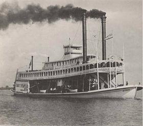 James T. Staples Riverboat in Bladon Springs, Alabama