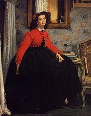Portrait of Miss L. L.