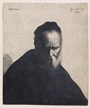 Jan Gillisz van Vliet - Old man, 1634
