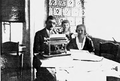 Jan poźniak with wife and daughter.png