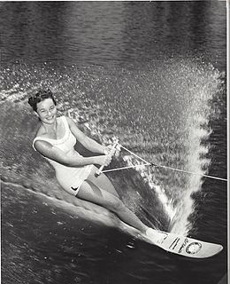 Janelle Kirtley American World Champion water skier