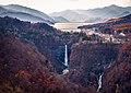 Japan, Tochigi - Nikko lake Chūzenji Kegon waterfall 2015.jpg