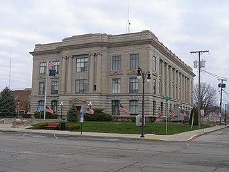 Jay County, Indiana - Image: Jay County Courthouse P4020129