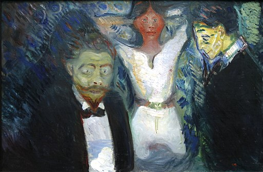 Jealousy by Edvard Munch - Städel - Frankfurt am Main - Germany 2017