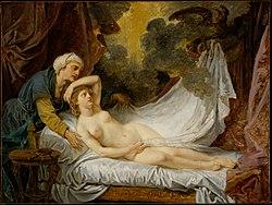 Jean-Baptiste Greuze - Aegina Visited by Jupiter, 1767-69.jpg