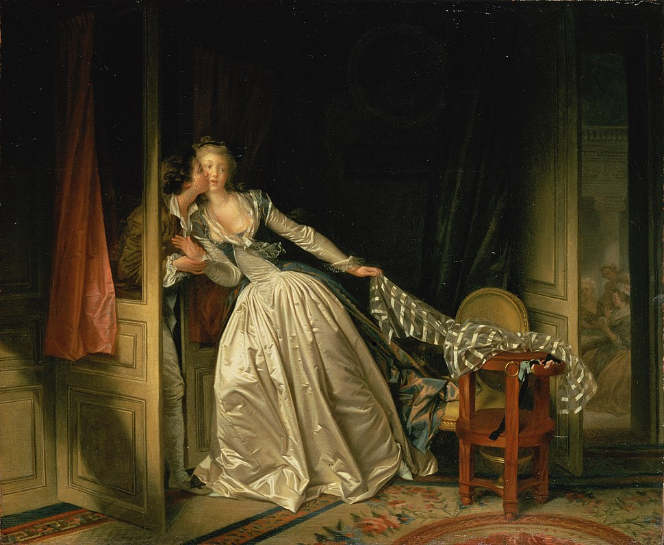 Jean-Honor%C3%A9 Fragonard - The Stolen Kiss