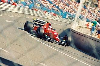 Ferrari F92A - Image: Jean Alesi