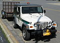 Jeep TJ Wrangler City of Frederick MD P&R with plow and trailer.jpg