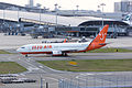 Jeju Air, 7C1383, Boeing 737-86Q, HL8234, Departed to Seoul, Kansai Airport (17171465156).jpg