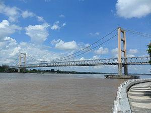 Kutai Kartanegara Bridge - Image: Jembatan Kutai Kartanegara (4)