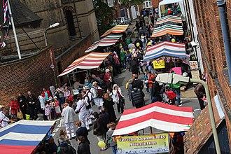 Canal Street, Oxford - Image: Jericho Street Fair 2012