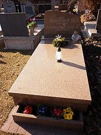 Jerzy Bafia grób.JPG