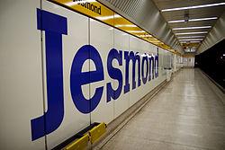 Jesmond Metro station, 10 April 2010 (1).jpg