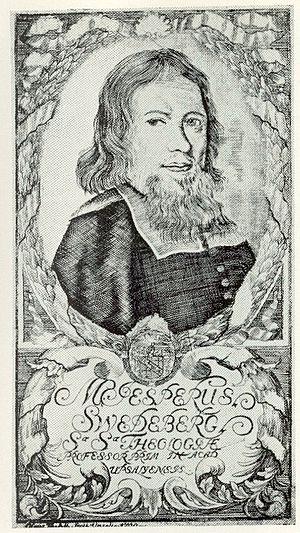 Jesper Swedberg - Jesper Swedberg. Engraving from 1700 by Hans Thelott.