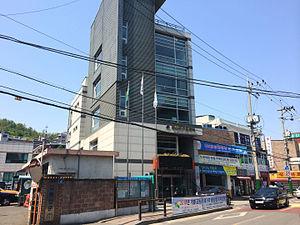 Jeungsan-dong - Image: Jeungsan dong Comunity Service Center 20140506 135444