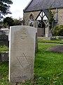 Jewish war grave, Aldbourough Hatch churchyard.jpg