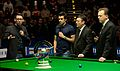 Jimmy White, Ronnie O'Sullivan and Neal Foulds at Snooker German Masters (DerHexer) 2015-02-08 05.jpg