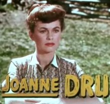 Joanne Dru a Vengeance Valley (1951)