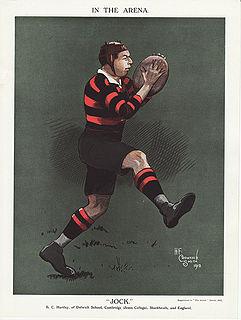 Bernard Charles Hartley English rugby union player