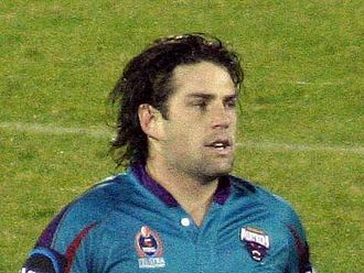 Joel Clinton - Clinton playing for the Panthers in 2006